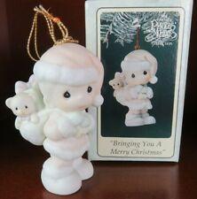 Bringing You A Merry Christmas 1994 Precious Moments Porcelain Ornament 528226
