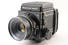 【For Parts】MAMIYA RB67 Pro S + Sekor C 127mm F/3.8 Lens +120 Film Back From JP