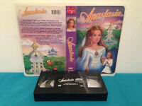 anastasia VHS tape & clamshell case FRENCH jebro productions