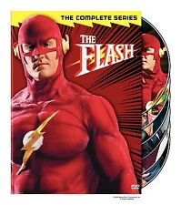 THE FLASH - COMPLETE FIRST SEASON 1 (1989) - DVD - Region 2 UK Compatible