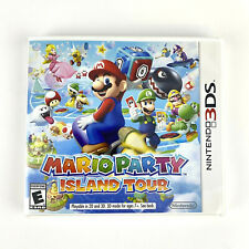 Mario Party Island Tour Nintendo 3Ds 2013 Complete Tested and Working