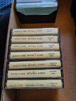7 Mitchell Ayres CASSETTE TAPE LOT SET 1-7 AJAX AJAZZ RARE RECORDINGS big band