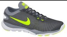NEW Nike Women's Flex Supreme Cool Grey White Volt Size 10 823668-003