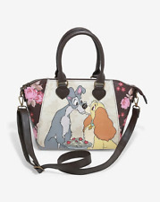 Loungefly Disney Lady & The Tramp Floral Satchel Bag - New