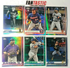 2019 Topps Chrome YOU PICK Refractor, Prism, Negative Green Blue Purple Parallel