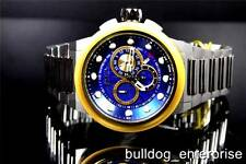 Mens Invicta Reserve Specialty Gold Blue Chronograph Swiss Made Watch 14302 New