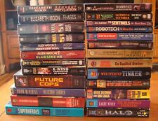 Sci-Fi Paperback Lot of 25 Books - Series Fill-ins and Great Authors!