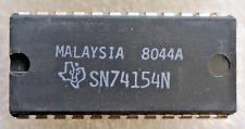 SN74154N Original-TI 4-Line to 16 Line Decoder/Multiplexer, 24 Pin
