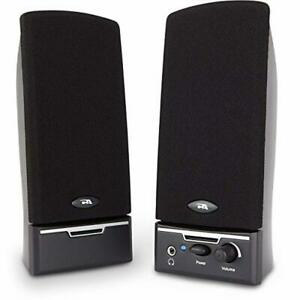 Cyber Acoustics CA-2014 Multimedia Desktop Computer Speakers for PC Laptop Use