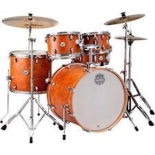 MAPEX ST5295FIC Storm Rock 5 Piece Drum Set with Chrome Hardware, Camphor Woo...