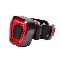 14 LED USB Rechargeable Bike Tail Light Bicycle Safety Cycling Warning Rear Lamp