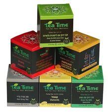 Variety 6 Tea bags packs,10 count each -60 total count-Green tea-Chai-Herbs