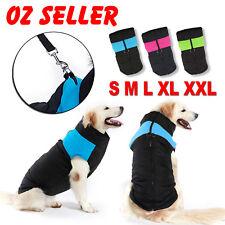 Large Dog jacket padded waterproof Pet Clothes Warm windbreaker Vest Coat Winter