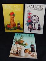 1960's Vintage Mid-Century Coca-Cola Pause  For Living Magazine Lot of 5
