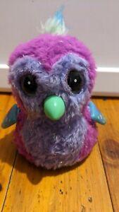 Hatchimals Pengulas Glittering Garden Pink & Purple Interactive Battery...
