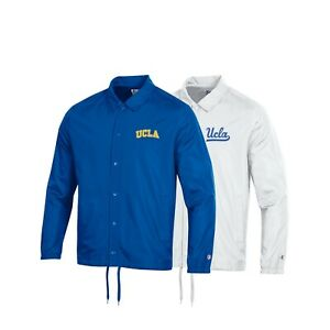 UCLA Bruins NCAA Men's Champion Classic Coaches Jacket Collection