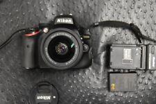 Nikon D D5100 16.2MP Digital SLR Camera - Black (Kit w/ AF-S DX VR AF-P 18-55mm)