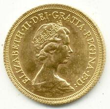 More details for 1978 queen elizabeth  full gold sovereign unc  coin