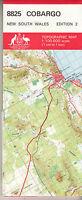 Cobargo (NSW)  8825 1:100,000  topographic map  New