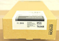 Cartouche Original EPSON T6368 700ml 11/2010 Matte Black 7900 9890 9900 Genuine