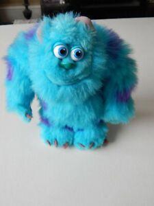 "Sulley Monsters Inc. 9"" Plush Disney Pixar Hasbro 2001"