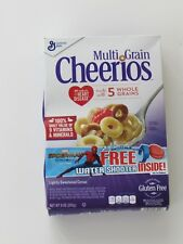 SPIDER-MAN HOMECOMING MARVEL WEB WATER SHOOTER TOY IN FULL CHEERIOS CEREAL BOX