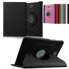 """For Samsung Galaxy Tab S2 8.0"""" 9.7"""" Rotating Smart PU Leather Stand Case Cover"""