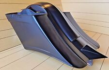 "7""Down 14""Back Stretch Bags/Fender For Harley Davidson Touring Bikes 97-2013 FLH"