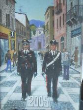 Calendario Carabinieri anno 2005 senza cordoncino    [C67]