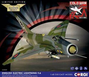 BNIB New Release Corgi 1:48th Scale English Electric Lightning F.6 XS904 Model.