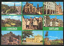 Posted 1982: Multiviews of Edinburgh: Princes Street: White Horse Close
