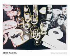 ANDY WARHOL - After the Party, 1979 POP ART PRINT Offset Lithograph Poster 16x20