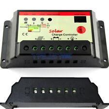 30A 12V 24V Solar Cell panels Battery Charge Controller LED with timer Regulator