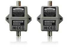 2 x CH38 Antenna Booster fits Sennheiser Shure 606-638 YW-7000G Trantec Toa BNC