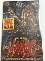 Maniac Comic #1 Limited Edition VHS Comics-not available in stores-New Sealed