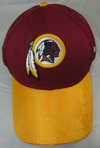 NFL Washington Redskins Team Issued Burgundy Baseball Hat Cap Small/Med New Era