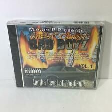 Anotha Level Of The Game Vol. 1 by West Coast Bad Boyz Music Audio CD Sealed