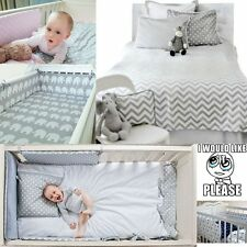 2-9 Pcs Baby Nursery Bedding Set GIRLS/BOYS 120x90 135x100 150x120cm 100% COTTON