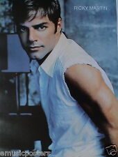 "RICKY MARTIN ""LOOKING OVER HIS SHOULDER"" POSTER FROM ASIA - Latin Pop Music"