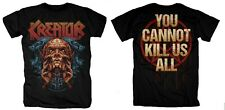 KREATOR cd lgo YOU CANNOT KILL US ALL Official SHIRT LRG New gods of violence