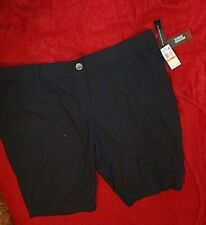 Counterparts Navy Blue Shorts size 24W retail $44