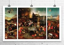 Temptation Of St. Anthony 1500 Hieronymus Bosch Canvas Giclee Print 40x24 in.
