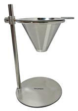 Gourmia GVD9320 Stainless Steel Pour Over Coffee Station – Adjustable Height