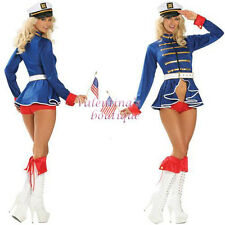 4 Pc Pin-Up Sailor S/M 8- 10 UK Fancy Dress Costume Hen Night Party