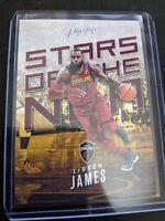 2017 Panini Prestige Stars of the NBA #2 Lebron James Lakers Pack Fresh MINT
