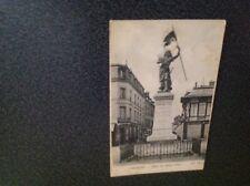Carte postale ancienne COMPIEGNE statue de Jeanne d'arc