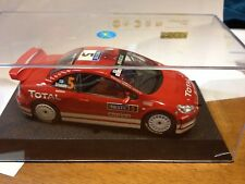 Peugeot 307CC Gronholm Total 1000 Laghi 2004 Scalextric Sport 6161  SLOT Ninco