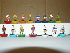 1974 WORLD CUP SUBBUTEO TOP SPIN TEAMS