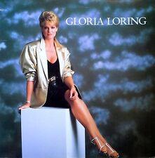 GLORIA LORING - SELF TITLED - ATLANTIC LBL - 1980 LP - AUTOGRAPHED