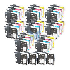36 PACK LC65 Ink Set for Brother MFC-5890CN MFC-5895CW MFC-6490CW MFC-6890CDW